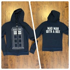 Doctor Who Mad Man Hoodie Ripple Junction
